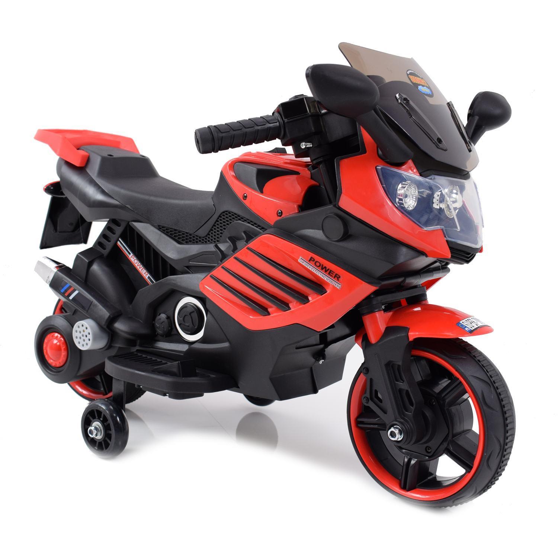 Genialny MOTOR ŚCIGACZ POWER 158 - PIERWSZY MOTOREK DLA DZIECKA, MIĘKKIE WF22